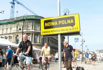 Przepis na ulicę na Krakowskim Przedmieściu w Warszawie