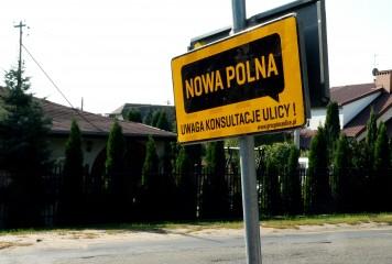 Nowa Polna – uwagi mieszkańców do koncepcji przebudowy ulicy